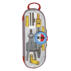 Kit compassi Studio Koh-l-Noor - kit 7 pz - L 133 mm