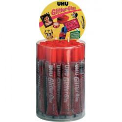 Glitter Glue UHU - Original - rosso - 20 ml