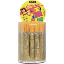 Glitter Glue UHU - Original - oro - 20 ml