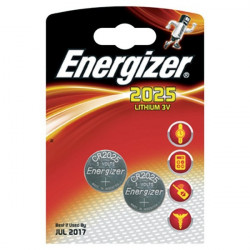 Pile Energizer Specialistiche - Litio - 2025 - 3 V (conf.2)