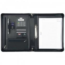 Portablocco con custodia tablet Juscha - 36x7x28,5 cm - nero