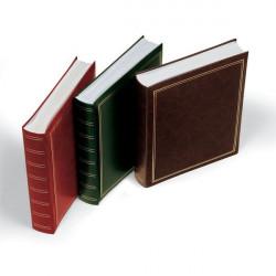 Album per foto Lebez - copertina marrone-blu-verde-rosso - similpelle - 50 fogli -30x33cm-0378-ASS