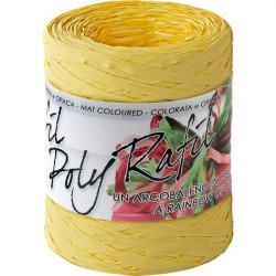 """Rocca """"Rafia"""" Brizzolari - 5 mm x 200 m - giallo"""