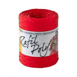 """Rocca """"Rafia"""" Brizzolari - 5 mm x 200 m - rosso"""