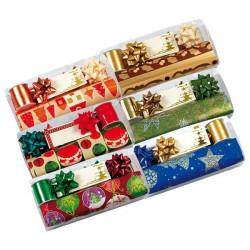Set regalo carta e nastro Brizzolari - natalizio