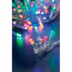 Luci natalizie - LED - colori assortiti - 100 - esterno - 13,5 m