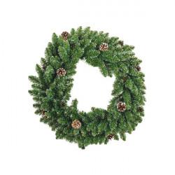 Corona natalizia - 60 cm - verde