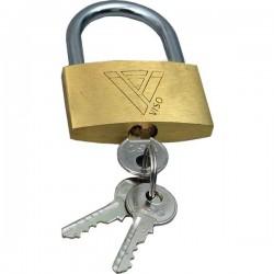 Lucchetti con chiave Viso - 16x20x7,5 mm (conf.3)