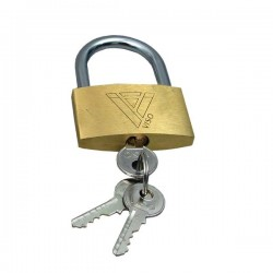 Lucchetti con chiave Viso - 49x75x19 mm