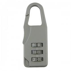 Lucchetto A Combinazione Viso - 22 mm - Argento - Cbag Sb
