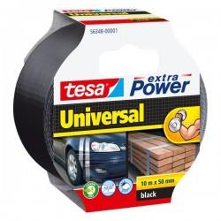 Nastro Extra Power Tesa - Extra Power Universal - Nero - 10 M X 50 mm