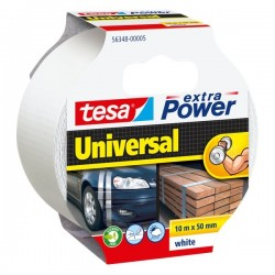 Nastro Extra Power Tesa - Extra Power Universal - Bianco - 10 M X 50 mm