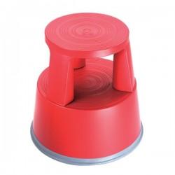 Sgabello in plastica RelX rosso