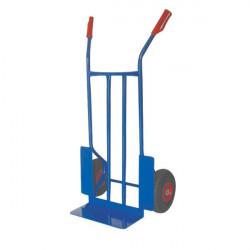Carrello portacasse con ruote pneumatiche Serena Group - blu - 57x46x116 cm - 300 kg