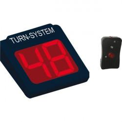 Display 2 cifre e radiocomando per Kit Eliminacode Nero/rosso Printex
