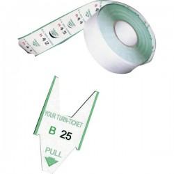 Rotoli tagliandi - Verde per EliminaCode Printex Tr/roll/ver (conf.5)