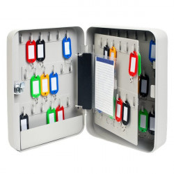 Cassetta portachiavi 5 Star - grigio - LxPxH 18 x 8 x 25 cm - 60