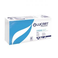 Tovaglioli bianchi in carta Lucart - 33x33 cm - 1 velo (conf.200)
