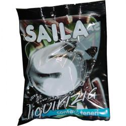 Caramelle Saila - menta liquirizia - 100 gr
