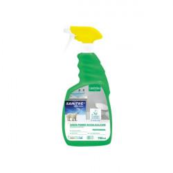 Detergente ecologico scioglicalcare per bagni Sanitec - 750 ml (conf.6)