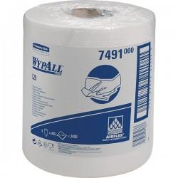 Bobine estrazione centr. cellulosa x Dispenser Roll Control Wypall - H 18,5 cm, Ø 20 cm (conf.6)