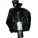 Sacchi per immondizia Cagliplast - 50x60 cm - 30 l - 16 µm - nero (conf.20)