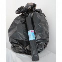Sacchi per immondizia Cagliplast - 70x100 cm - 97 l - 17 my - nero (conf.10)