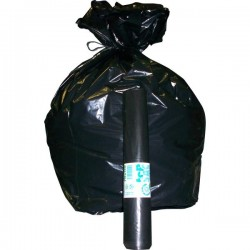 Sacchi per immondizia Cagliplast - 70x110 cm - 110 l - 30 µm - nero (conf.10)