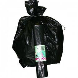 Sacchi per immondizia Cagliplast - 120 l - 0,049 my - nero (conf.100)