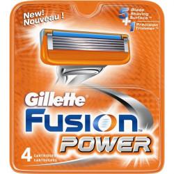 Ricariche per rasoio Fusion Power Gillette (conf.4)