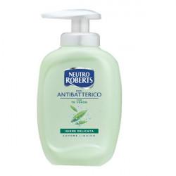 Sapone liquido Neutro Roberts - Antibatterico - 300 ml (conf.3)