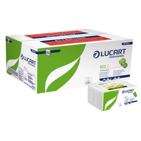Asciugamani premio C Lucart - 1 velo - 23x33 cm - cellulosa riciclata (conf.192)