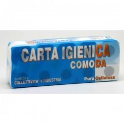 Carta igienica Lucart - Pura cellulosa - 2 veli - 155 strappi (conf.10)