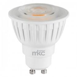 Lampadine Led MKC - calda - GU10 - 7,5W - 540 - 2700k