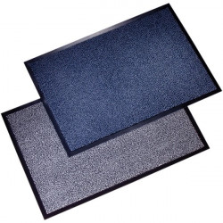 Tappeti antipolvere Floortex - bianco e nero - 90x150 cm