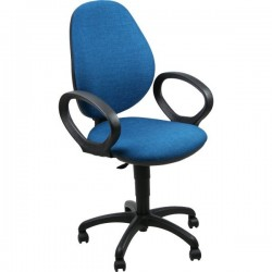 Sedie ergonomiche Cadrega 5 Star - Sedia Motion - blu oltremare - 99-111 cm