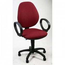 Sedie ergonomiche Cadrega 5 Star - Sedia Motion - rosso mattone - 99-111 cm