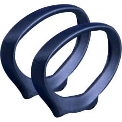 Coppia di braccioli per sedie ergonomiche Cadrega Unisit - nero - BRALIB2