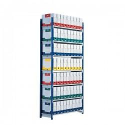 Confezione 5 ripriani per scaffalatura ad incastro RANG'ECO Paperflow