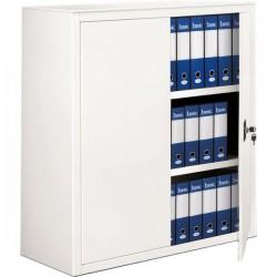 Armadi archivio a porte battenti Tecnical 2 - bianco - 2 - 100x45x116(h) cm - 35 kg