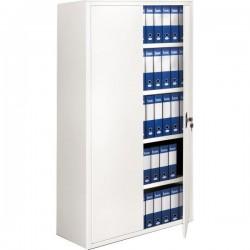 Armadi archivio a porte battenti Tecnical 2 - bianco - 4 - 100x45x200(h) cm - 35 kg