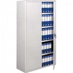 Armadi archivio a porte battenti Tecnical 2 - grigio - 4 - 100x45x200 (h) cm - 35 kg
