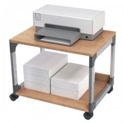 Carrello portastampante Durable - argento metallizzato/faggio - 60x43,2x47,7 cm - 2
