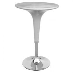 Tavolo bar Serena Group - grigio - 60x60x72/92 cm
