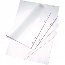 Blocchi lavagna confezionati singoli Nobo - quadretti - 96x67 cm