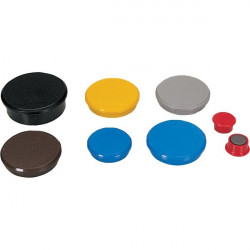 Magneti per lavagne Dahle - ø 24 mm - blu (conf.10)