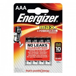Pile Energizer Alkaline Max - AAA - ministilo (conf.4)