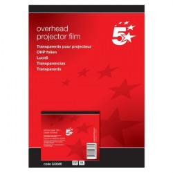 Lucidi 5 Star - Per fotocopiatrici - retrofoglio lato lungo (conf.100)