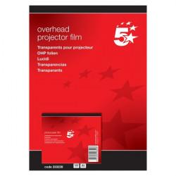 Lucidi 5 Star - Per fotocopiatrici - senza retrofoglio (conf.100)