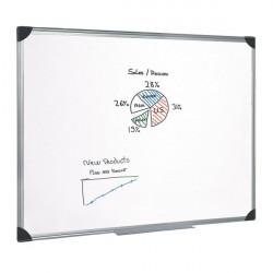 Lavagne bianche 5 Star - alluminio - 60x90 cm - bianco - lavagna murale -